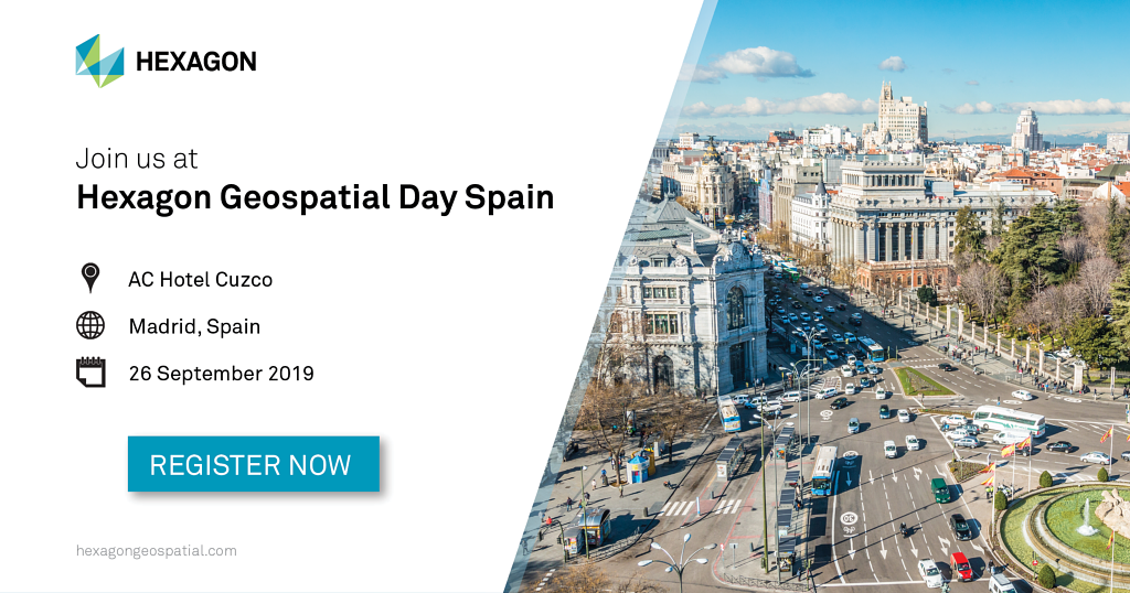 Hexagon Geospatial Day Spain 2019