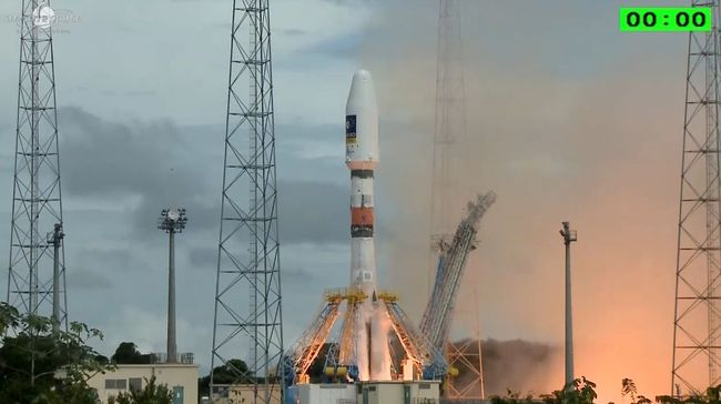 Lanzados con exito los satélites 5 y 6 del programa Galileo