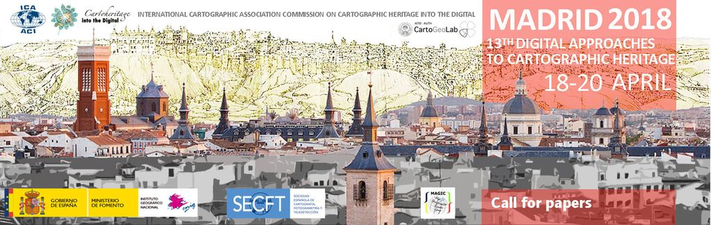 13th Conference Digital Approaches to Cartographic Heritage